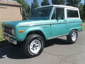 Ford Bronco For Sale Near Me Buy Used 1966 Ford Bronco Early Bronco Sport 4x4 Drive