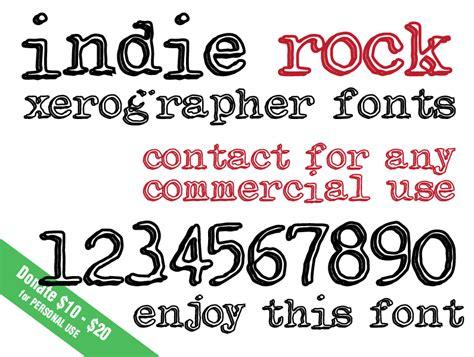 xerographer dafont indie rock font dafont com
