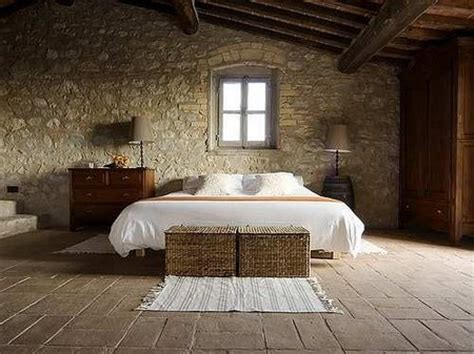 rock wall in bedroom rustic bedroom faux stone wall my style pinterest