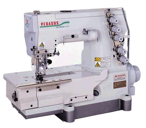 pegasus 5 thread flatlock interlock sewing machine