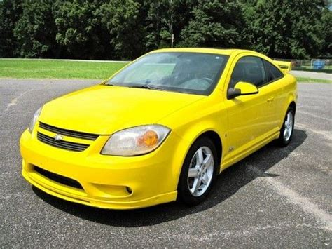 cobalt recaro seats find used 06 chevy cobalt ss rally yellow supercharged 5