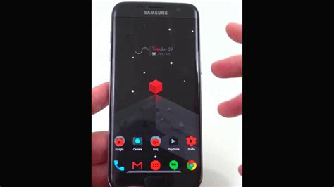 best themes for s7 edge top android custom themes black and red for galaxy s7 edge
