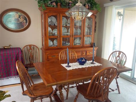 dining room table and china cabinet koehler dining room table 10 chairs matching buffet and