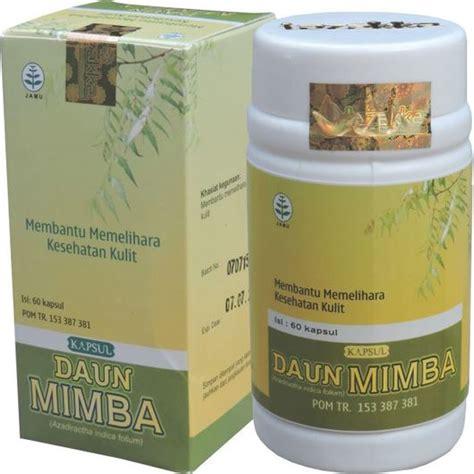 Terlaris Kapsul Daun Mimba Herbamedika obat alami kesehatan kulit dengan daun mimba tazakka