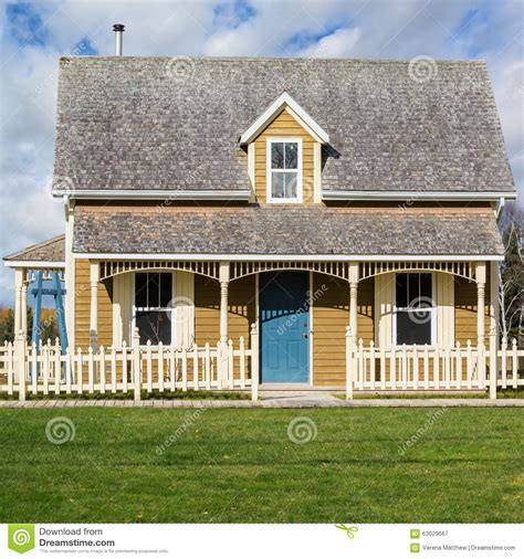 old fashioned house tiny house stock photo image 63029667