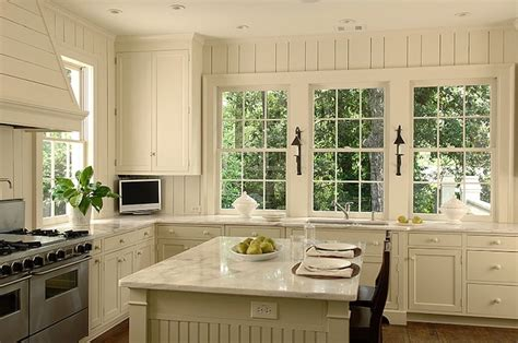 kitchen cabinets beadboard beadboard kitchen island cottage kitchen litchfield