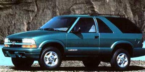 1999 chevrolet blazer (chevy) review, ratings, specs