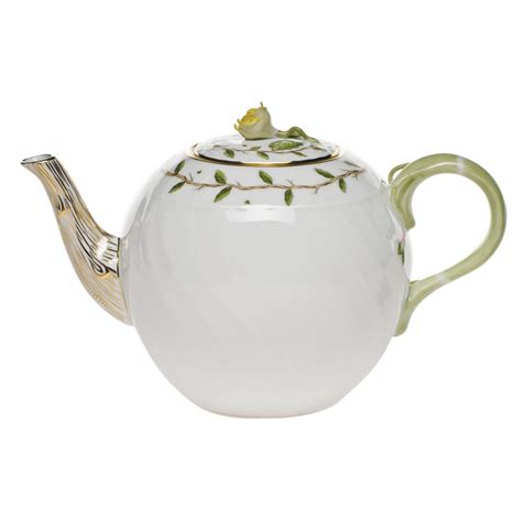 teapot garden herend rothschild garden teapot at herendstore