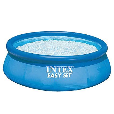 Intex Pool Set Spa intex 12ft x 30in easy set pool set home garden spa