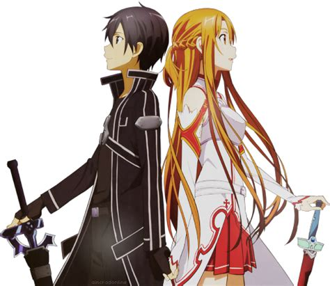 theme line sao sword art online here have a transparent kirito asuna