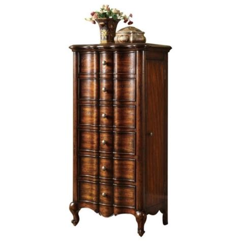 furniture jewelry armoire hooker furniture seven seas french jewelry armoire w flip