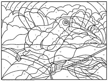 elements compounds mixtures coloring page
