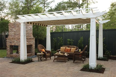 pergola awning pergola canopy in southern living idea house shadefx canopies