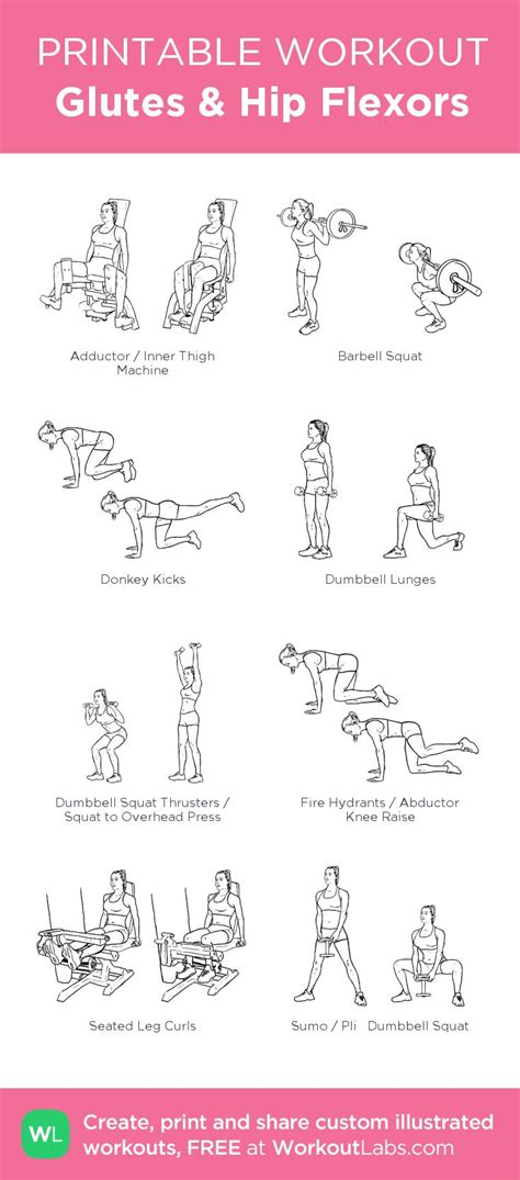printable hip flexor stretches 17 best images about fitness on pinterest