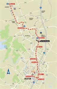 Capital Metro Tx Capital Metrorail Map