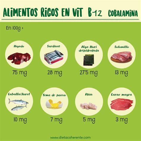 top  alimentos ricos en vitamina  nutricionista