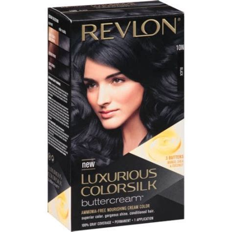 what is the best drugstore permanent haircolor revlon luxurious colorsilk buttercream hair color 03g