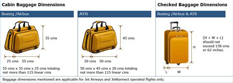 image gallery jet airways baggage allowance