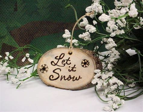 rustic ornament christmas wood crafts my style pinterest