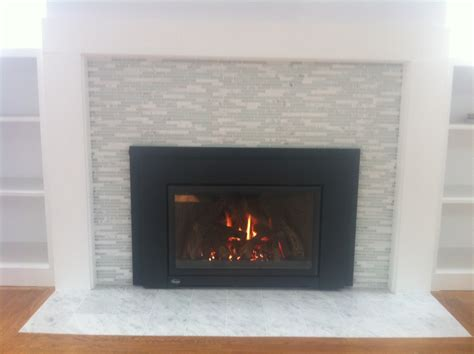 tiling around a fireplace portfolio chimney builders inc