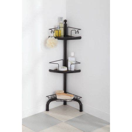 oil rubbed bronze bathtub caddy homezone 3 tier adjustable corner shower caddy oil rubbed