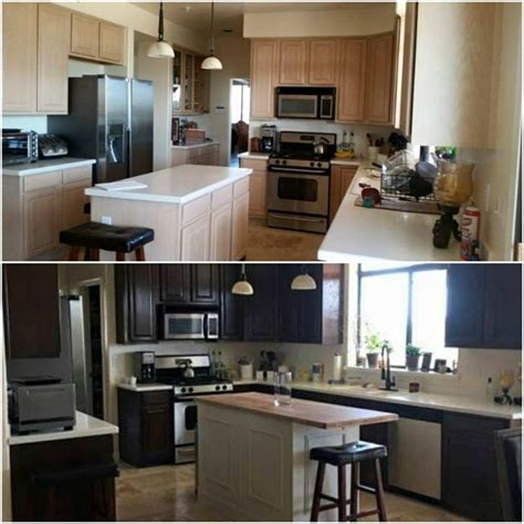 Touch Up Stain On Kitchen Cabinets by How To Use General Finishes Gel Stain To Touch Up Tired