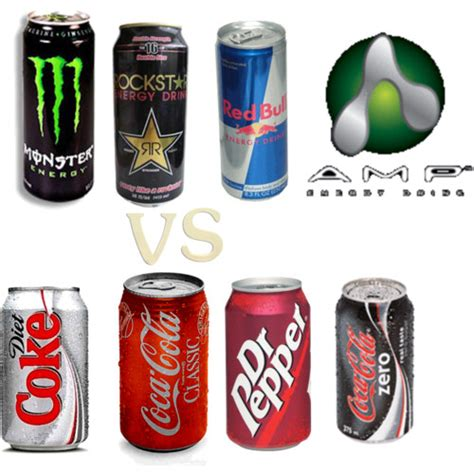 energy drink vs soda soft drinks vs energy drinks siowfa12 science in our