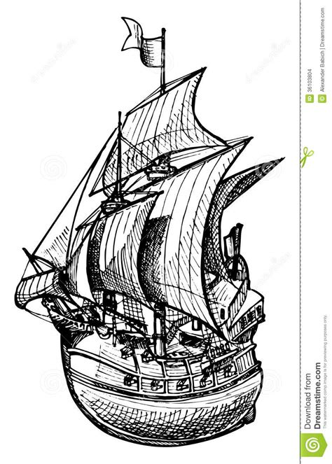 galleon stock images image 36103804