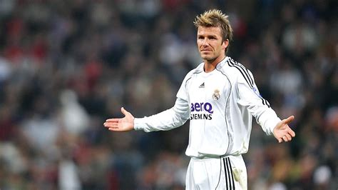 Beckham Became A by David Beckham To Become Real Madrid Ambassador