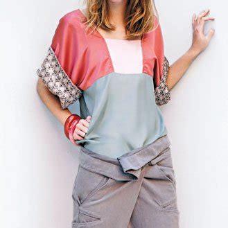 Kimono Blouse Edition ma chemise kimono magazine avantages