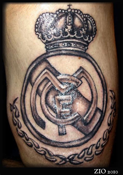 real madrid tattoo 45 awesome real madrid tattoos