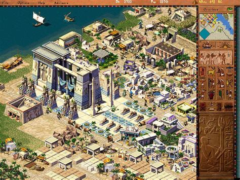house builder game any pharaoh and caesar like games as asked on r ipad