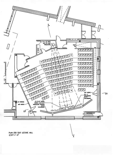 lecture hall floor plan lecture halls plans google search cus med