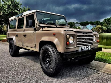 land rover 1990 1990 land rover defender 110 for sale 2000989 hemmings
