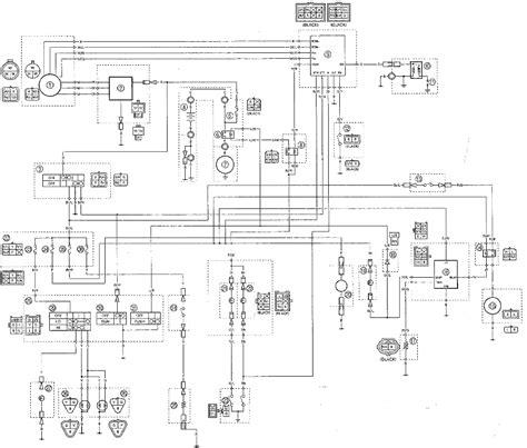 yfm400fwn wiring diagrams yamaha big 4wd atv weeksmotorcycle