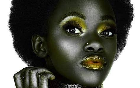 black girl black girl with afro mac heat
