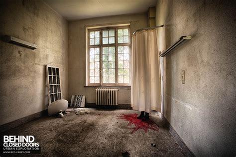 blood room sanatorium salve mater belgium 187 urbex closed doors exploring abandoned locations