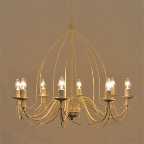 The Birdcage 8 Arm Wrought Iron Ceiling Light Bespoke Birdcage Ceiling Light