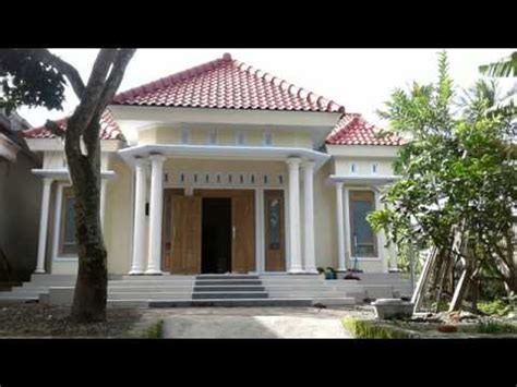 desain rumah  sederhana kesan mewah youtube