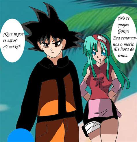 imagenes de goku x bulma goku and bulma cosplay naruto by majingokuable on deviantart