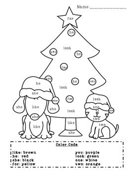 christmas coloring pages with words christmas sight word coloring page by valerie gilmore tpt