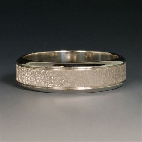 Wedding Bands Borders by Wedding Band Sterling W Beveled Borders Engraved Texture