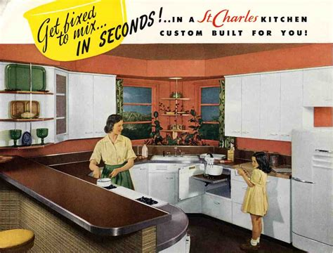 kitchen cabinet advertisement 1948 was a very good year awesome retro kitchens and cary