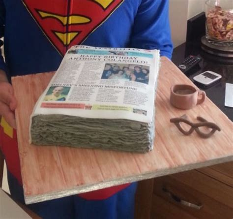 newspaper themed cake 17 best images about journalist cakes on pinterest