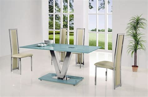 v glass dining table dining table and chairs dining tables
