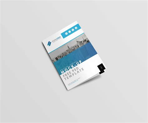 Brochure Template Size by Us Letter Size Brochure Mockup Template Free Psd