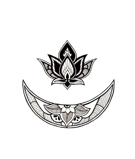tattoo flower for may the may flower moon requested tattoo design please don