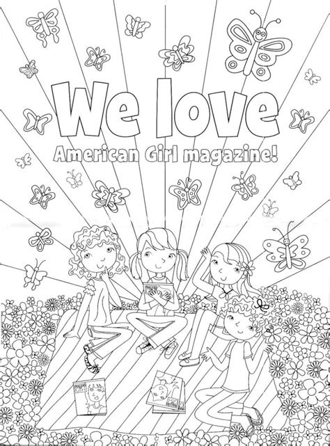 american girl printable coloring pages az coloring pages