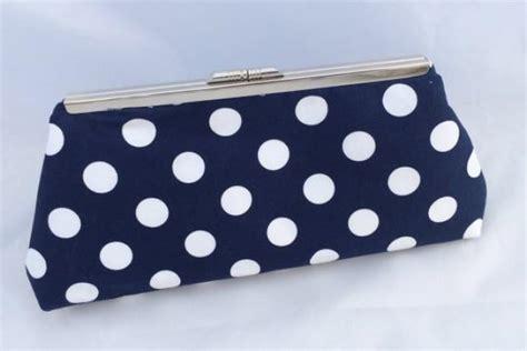 Sale Clutch 2 sale navy polka dot handbag clutch ready to ship 2381722 weddbook
