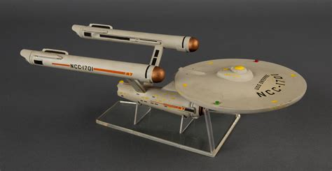 starship enterprise model with lights stand model trek starship enterprise national